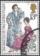 GREAT BRITAIN 1975 Birth Bicentenary Of Jane Austen (novelist) - 13p - Mary And Henry Crawford (Mansfield Park) FU - 1952-.... (Elisabetta II)