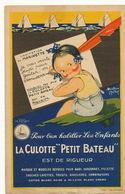 """Pub Signée Beatrice Mallet Culotte """" Petit Bateau """"  Marinette Coton - Advertising"""