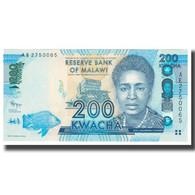 Billet, Malawi, 200 Kwacha, 2012, 2012-01-01, KM:60, NEUF - Malawi
