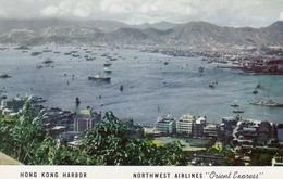 CHINA (Hong Kong) , 50-60s ; Harbor ; NORTHWEST AIRLINES - China (Hongkong)