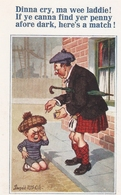 """""""Donald McGill. Dinna Cry,ma Wee Laddie! If Ye Canna...."""" Inter-Art Comique Series PC # 4181 - Mc Gill, Donald"""