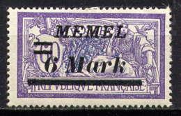 MEMEL  - 73* - TYPE MERSON - Memel (1920-1924)