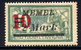 MEMEL  - 82* - TYPE MERSON - Memel (1920-1924)