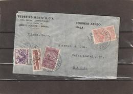 Brazil Porto Alegre AIRMAIL COVER 1934 - Luchtpost