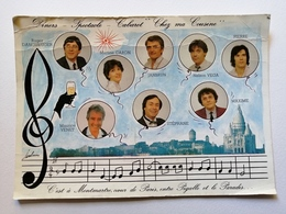 """Carte Publicitaire Pour Le Cabaret """"chez Ma Cousine"""" Montmartre Paris - Cartes"""