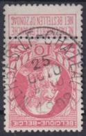 """130-  COB/OBP 74 (o)    """" MERBES-LE-CHATEAU"""" +4 - 1905 Breiter Bart"""