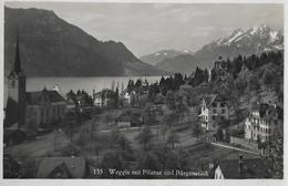 WEGGIS → Dorfansicht Anno 1937 - LU Lucerne