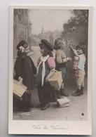 ÉCOLIERS - 1907 - Vive Les Vacances - PHOTO STEBBING - Animée - Schools