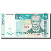 Billet, Malawi, 50 Kwacha, 2011, 2011-06-30, KM:53c, NEUF - Malawi