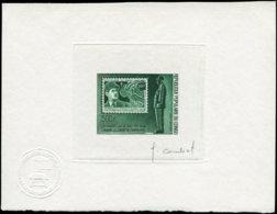 CONGO Poste Aérienne ** - 134, épreuve D'artiste En Vert, Signée: 500fr. De Gaulle - French Congo (1891-1960)