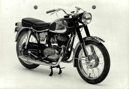 "Pannonia 250cc  +-18cm X 10cm "" Perforada "" Moto MOTOCROSS MOTORCYCLE Douglas J Jackson Archive Of Motorcycles - Fotos"