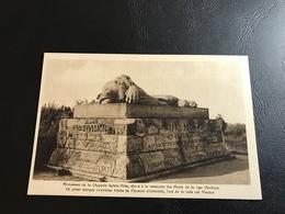 Monument De La Chapelle Sainte Fine, élevé à La Memoire Des Morts De La 130e Division. Ce Point Marque L'extreme Limite. - Monuments Aux Morts