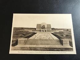 Monument élevé à La Memoire D'André MAGINOT Sur La Pente Nord Du Fort De SOUVILLE - Monuments Aux Morts