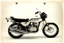 "Kawasaki 250 +-18cm X 10cm "" Perforada "" Moto MOTOCROSS MOTORCYCLE Douglas J Jackson Archive Of Motorcycles - Altri"