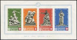 SUISSE Blocs Feuillets ** - 5, Fête Nationale - Cote: 400 - Svizzera