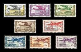 GUYANE 1937 - PA  1 à  8 - NEUFS** -   Cote  11.50e - Nuevos