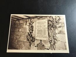 5 - DOUAUMONT Casemate Où Reposent Les Corps Des Chasseurs Mitrailleurs Du 49e B.C.P Tués à Cet Endroit Par Un Obus De.. - Monuments Aux Morts