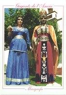 ES MASQUEFA - Gegants De L'anoia - Animée - Belle - Carnaval