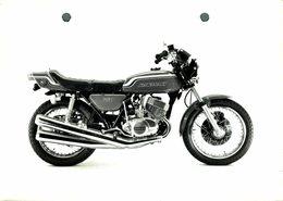 "Kawasaki 750 +-17cm X 12cm "" Perforada "" Moto MOTOCROSS MOTORCYCLE Douglas J Jackson Archive Of Motorcycles - Altri"