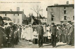 1678. CPA 87 LE DORAT. OSTENTION 1904. ARRIVEE DE LA COMMUNE DE BUSSIERE-POITEVINE - Le Dorat