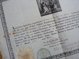 Alexandre JANDEL (1810-1872) DOMINICAIN Ordre Des Prêcheurs. Nancy. AUTOGRAPHE - Autografi