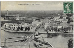 A3 Gard 30 AIGUES MORTES Le Pont Tournant, La Gare 1904 TBE - Aigues-Mortes