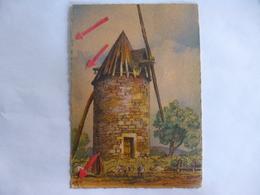 En Guyenne. Dans Le Gers. Vieux Moulin à Vent.  Barré & Dayez. - Francia