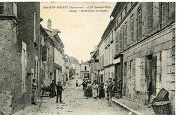 1682. CPA 24 ST-AULAYE. LA GRAND'RUE - Francia