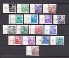 DDR - 1953 - Michel Nr. 362/379 - SR - Postfrisch - 240 Euro - Neufs