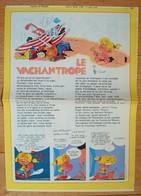 Le Vacanthrope. - Spirou 3 Août 1978. - Jannin Wasterlain Mitacq ... - Spirou Magazine