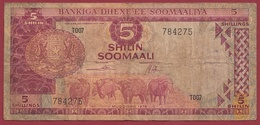 Somalie  5 Shillings 1978 Dans L 'état (239) ---TRES FORTE COTE EN UNC - Somalie