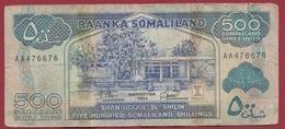 Somalie  500 Shillings 1994 Dans L 'état (241) - Somalie