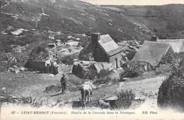 29 - SAINT HERBOT : Moulin De La Cascade Dans La Montagne - CPA - Finistère ( Bretagne ) - Saint-Herbot