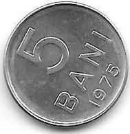 *romania 5 Bani 1975  Km 92a    Bu/ms65 - Roumanie