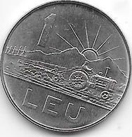 *romania  1 LEU 1966  Km 95    Bu/ms65 - Roumanie