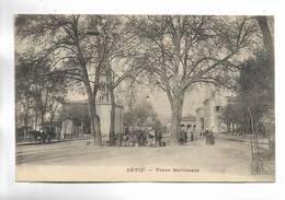 ALGERIE - SETIF - Place Nationale -  Petite Animation. - Sétif
