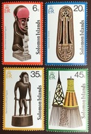 Solomon Islands 1978 Artefacts MNH - Isole Salomone (1978-...)