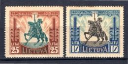 LITAUEN, 1930 500. Todestag Von Vytautas Dem Grossen, Ungebraucht* - Lituanie