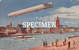 Internationale Luftschiffahrts)Ausstellung Frankfurt - Zeppelin - Dirigeables