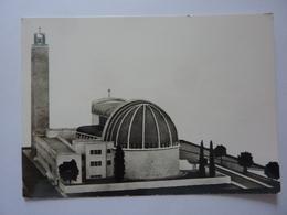 """Cartolina """"BATTIPAGLIA  Costruenda Chiesa - Lato Sud Est"""" Anni '50 - Battipaglia"""