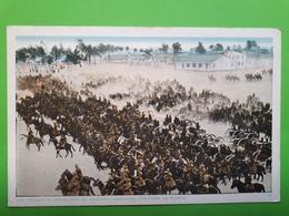 Cartolina - Una Brigata Di Artiglieria Da Campagna Americana -  1940 Ca. - Militari