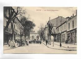 ALGERIE - SETIF - La Porte Napoléon - Belle  Animation. - Sétif