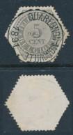 TG 8 – Oblitération Quaregnon-Monsville 1891 – Centrage Parfait - Telegraafzegels