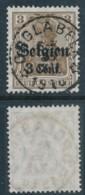 Bezetting 3 Cent – Sterstempel Opglabeek – Limburg - [OC1/25] Gen. Gouv.