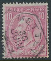 46 - Oblitération Mettet - 1884-1891 Leopold II.