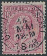 46 - Oblitération Gand (Porte D'Anvers) 14 NMAI 1888 - 1884-1891 Leopold II