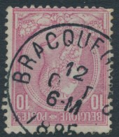 46 - Oblitération Bracquegnies 12 OAUT 1885 - 1884-1891 Leopold II