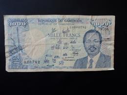 CAMEROUN : 1000 FRANCS   1.01.1989   P 26d     TB+ * - Camerun