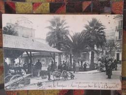 Cannes  Place Du Marche Forville . Dos 1900 - Cannes