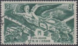 Océanie 1931-1956 - Poste Aérienne N° 19 (YT) N° 19 (AM) Oblitéré. - Océanie (Établissement De L') (1892-1958)